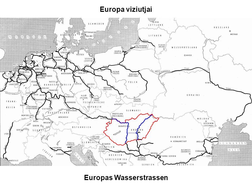 Europa viziutjai Europas Wasserstrassen