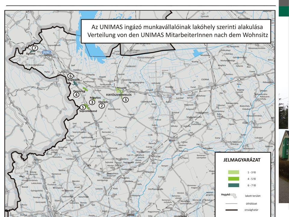 Munkába járási adatok /Daten der Pendlerverkehr