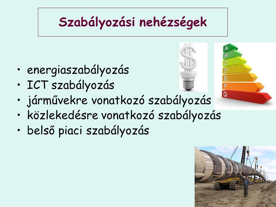 Különböző a sebességük Energia ICT