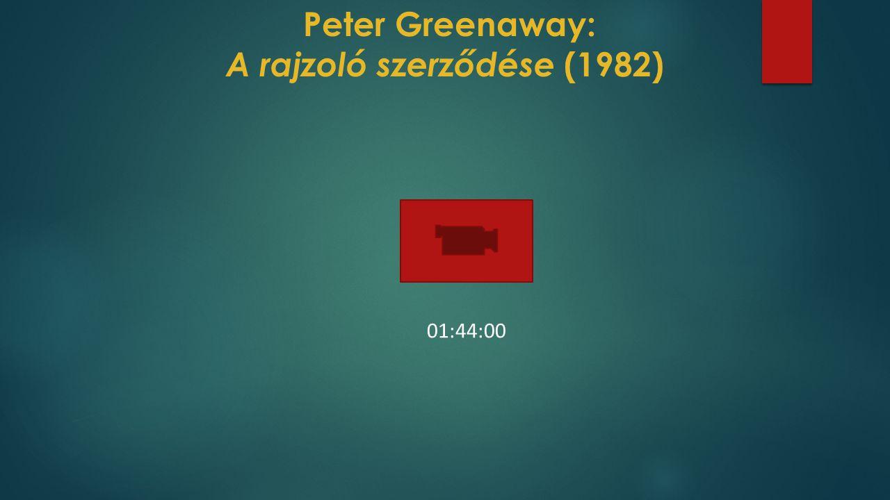 Peter Greenaway: A rajzoló szerződése (1982) 01:44:00