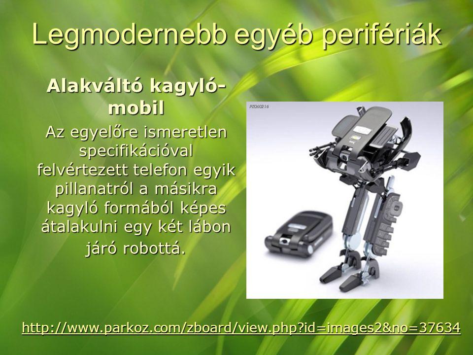 Legmodernebb egyéb perifériák Alakváltó kagyló- mobil Az egyelőre ismeretlen specifikációval felvértezett telefon egyik pillanatról a másikra kagyló f