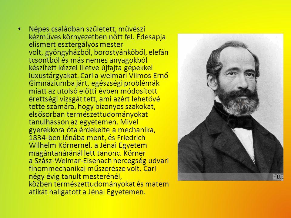 Tanoncévei után 1838 és 1845 között vándor mesterlegényként járt Stuttgartban, Darmstadtban.
