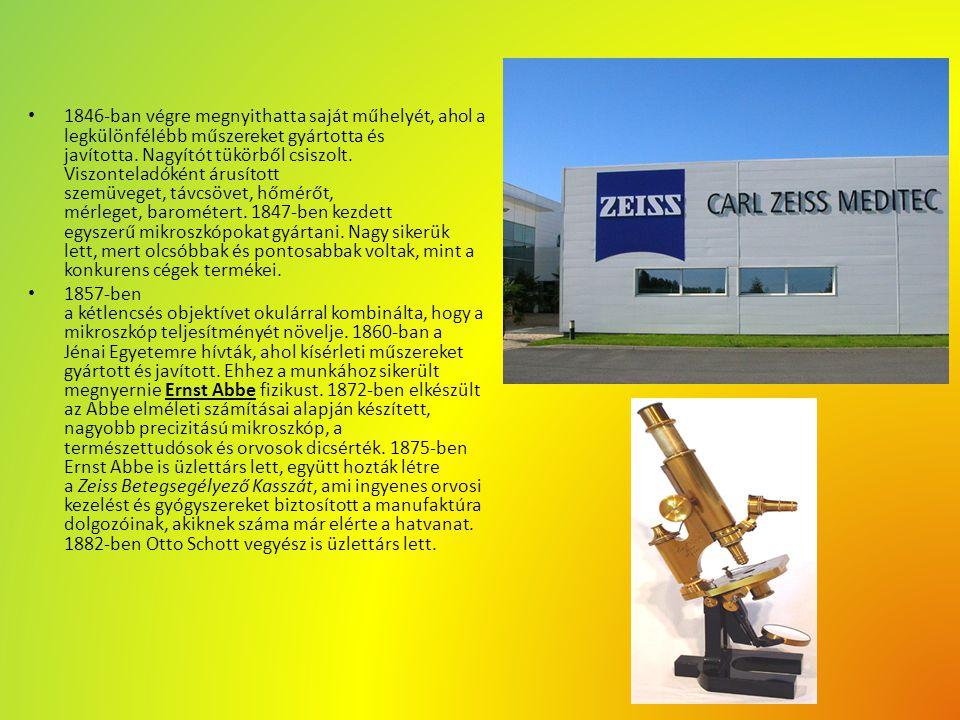 """""""Zeiss használata manapság Manapság a közéletben is használják a Zeiss Optikát."""