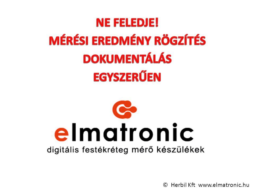 © Herbil Kft www.elmatronic.hu