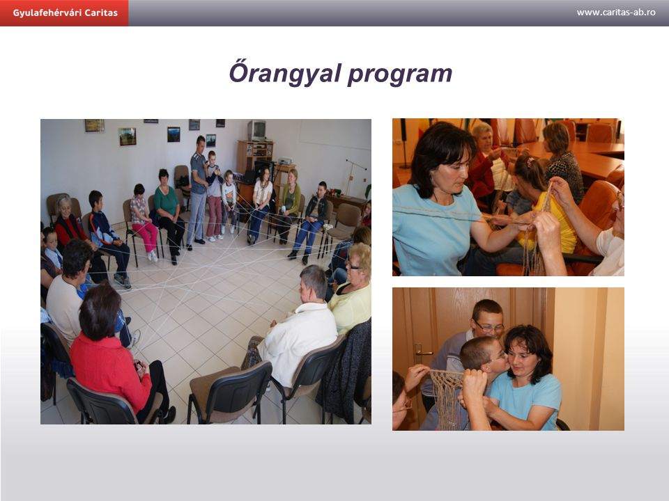 www.caritas-ab.ro Őrangyal program
