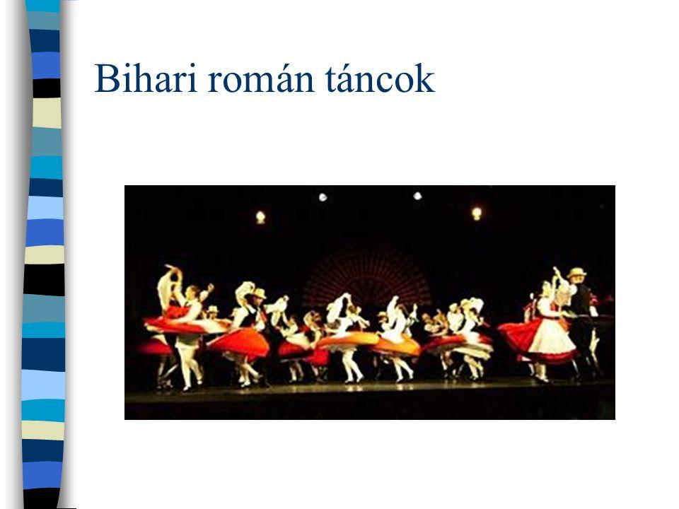 Bihari román táncok