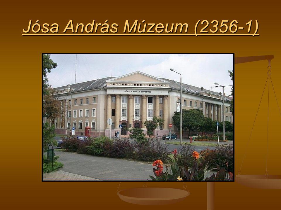 Jósa András Múzeum (2356-1) Jósa András Múzeum (2356-1)