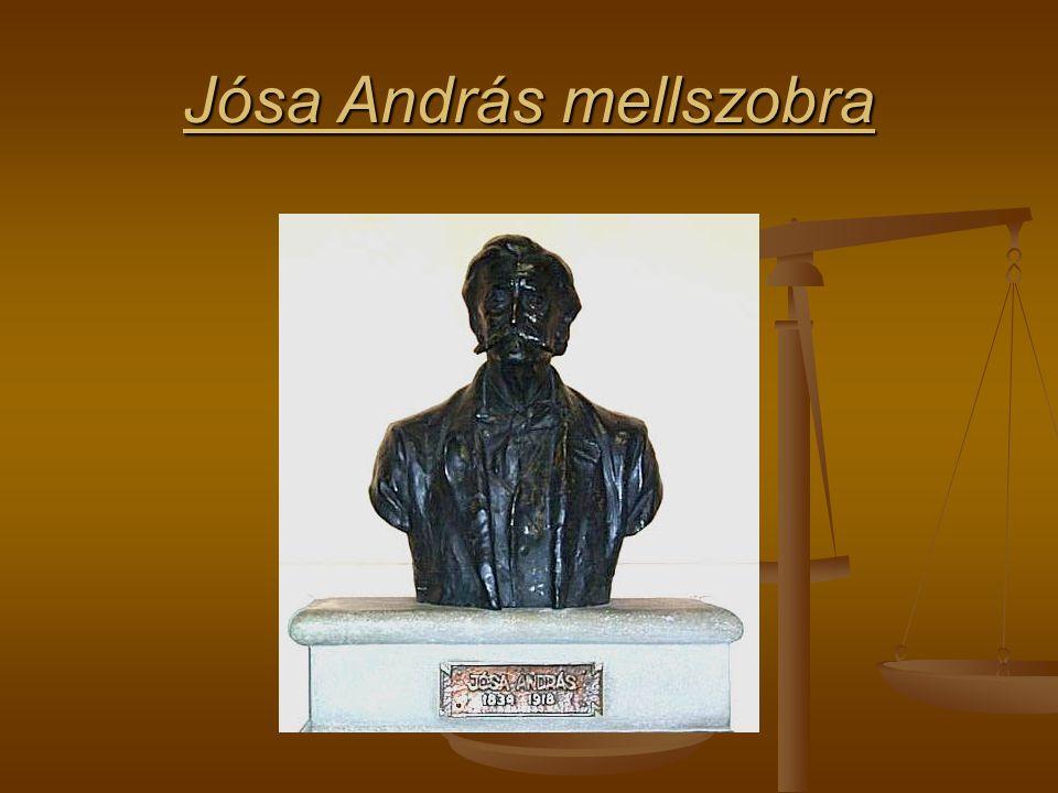 Jósa András mellszobra