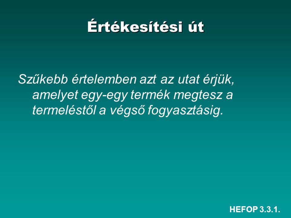 HEFOP 3.3.1.Csatornaszintek I.