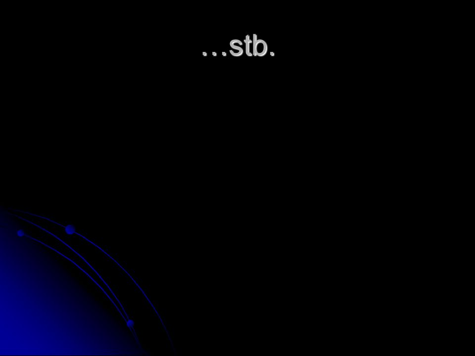 …stb.
