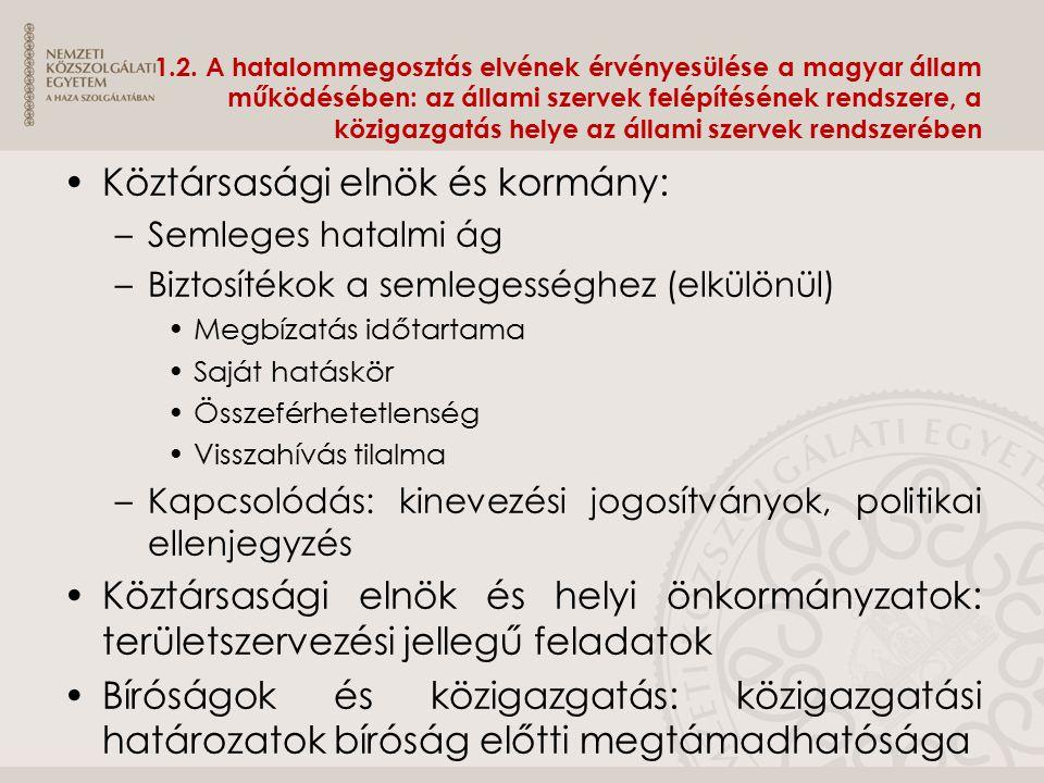 4.3.Az államigazgatás működésének tagolása Irányultság szerint azaz milyen irányban hat.