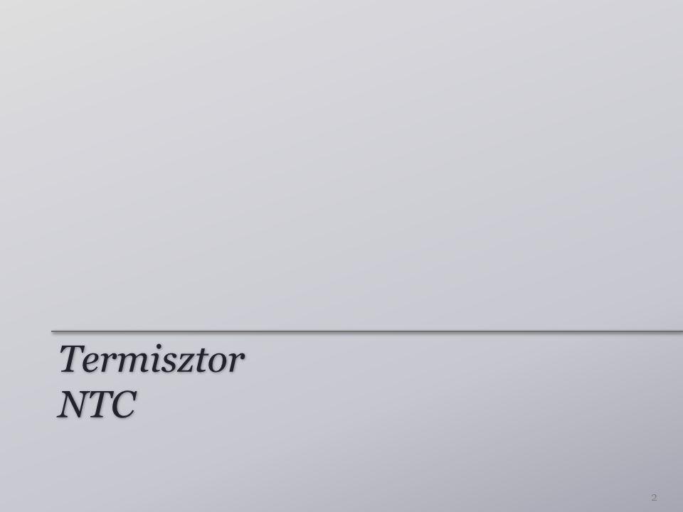Termisztor NTC 2