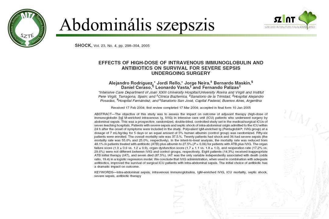 Abdominális szepszis