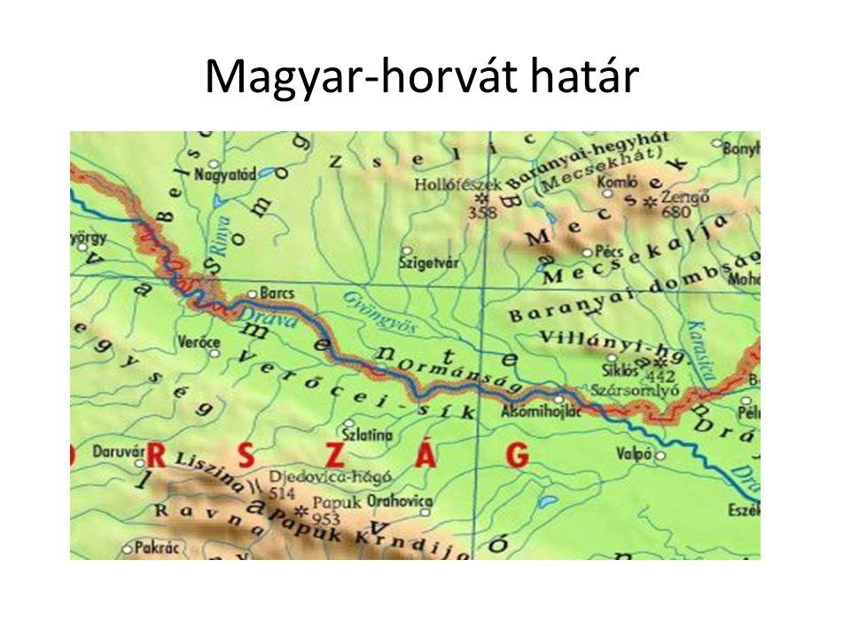 Magyar-horvát határ