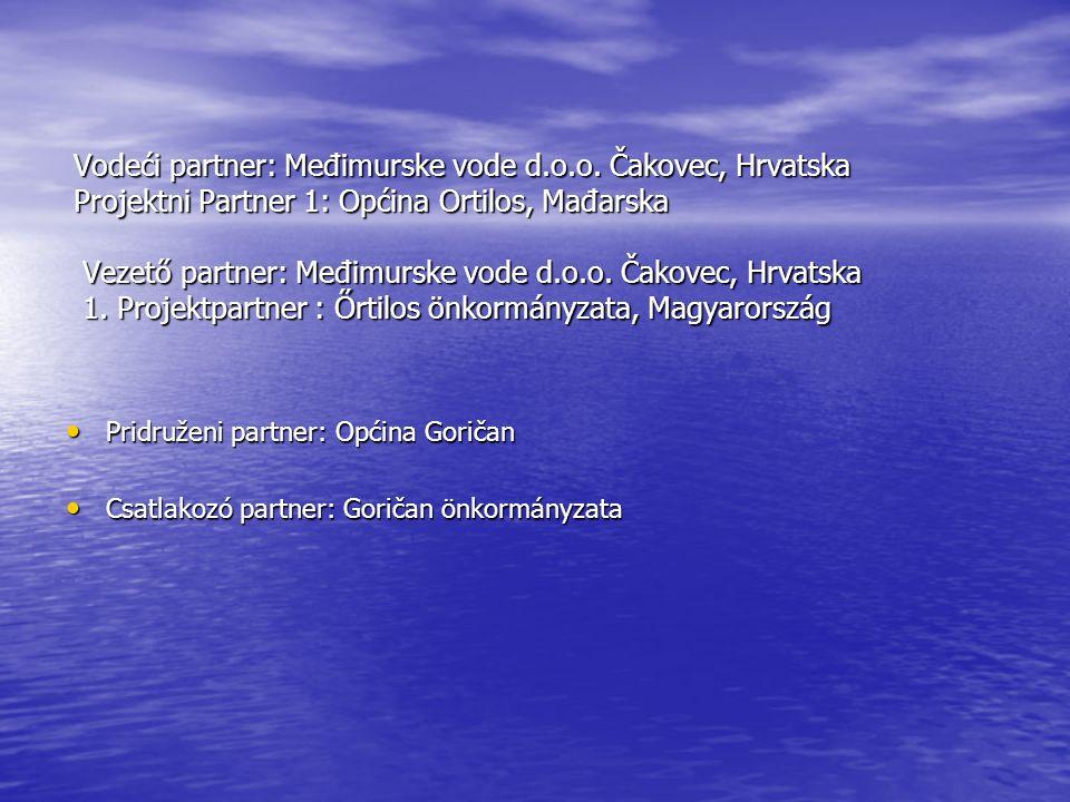 Vodeći partner: Međimurske vode d.o.o.