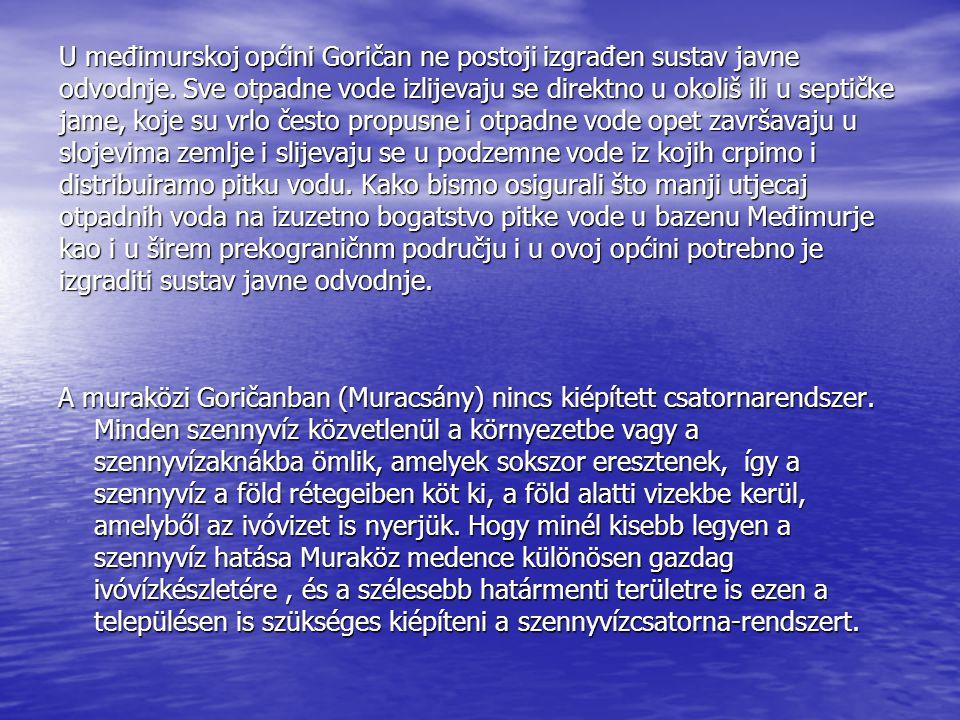 U međimurskoj općini Goričan ne postoji izgrađen sustav javne odvodnje.