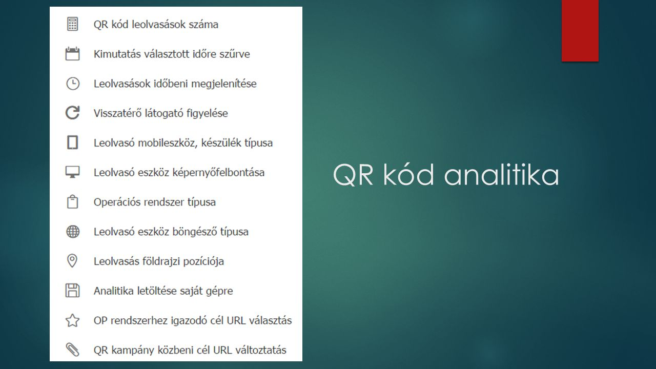 QR kód analitika