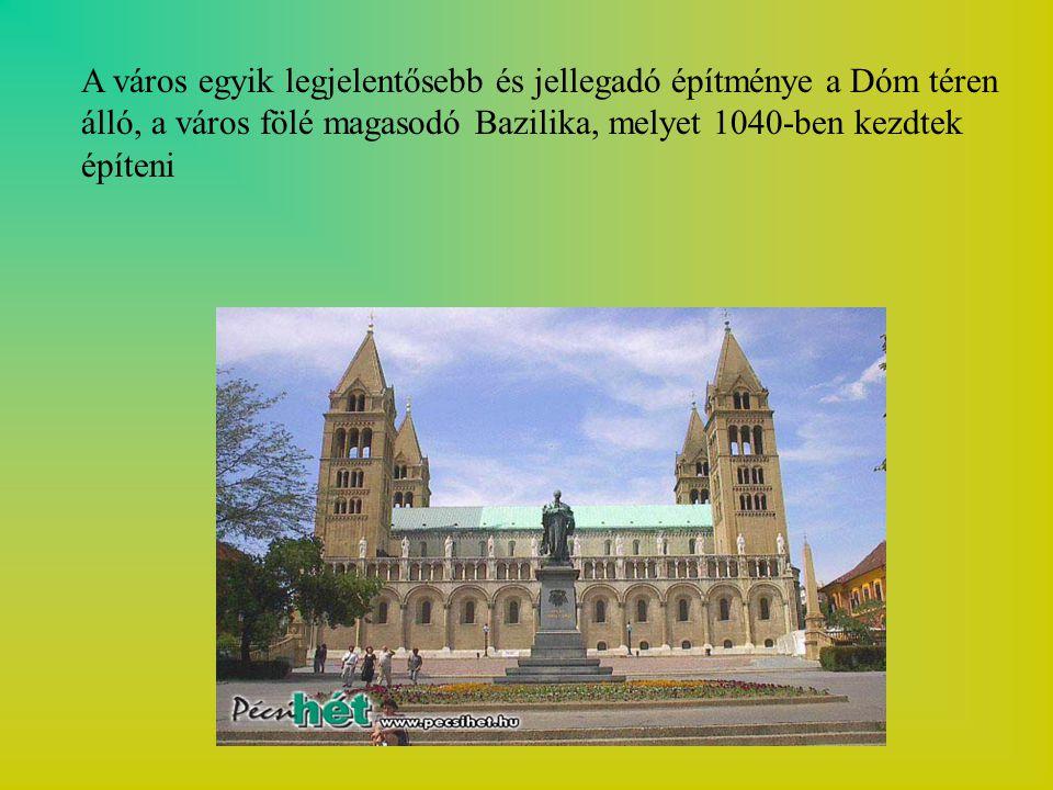 A város egyik legjelentősebb és jellegadó építménye a Dóm téren álló, a város fölé magasodó Bazilika, melyet 1040-ben kezdtek építeni