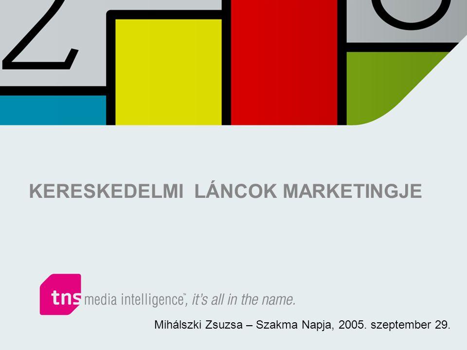 2 KERESKEDELMI LÁNCOK MARKETINGJE 1.FMCG TERMÉKEK A REKLÁMPIACON Részesedésük a teljes reklámköltésből Reklámozási szokások, tendenciák 2.KERESKEDELMI LÁNCOK HIRDETÉSI SZOKÁSAI Súlyuk a reklámpiacon Átalakuló piac Kommunikációs trendek a)Médiahasználat b)Kreatív tendenciák 3.MIT HOZ A JÖVŐ.