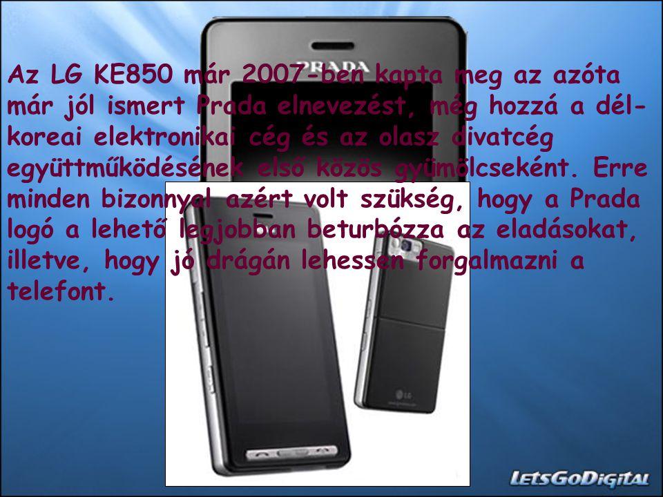 Adatok: Méret: 98.8 x 54 x 12 milliméter Súly: 85 gramm Kijelző: 3 hüvelykes érintőképernyő GSM: Három normás Adatátvitel: EDGE, Bluetooth, USB Multimédia: 2 megapixeles kamera, mp3-lejátszó Memória: 8 + 256 megabájt (MicroSD kártya) Ár: 130-150 ezer forint