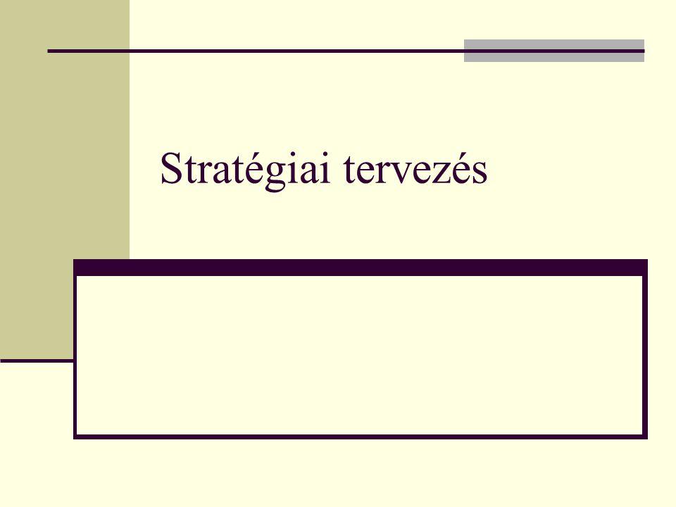 Stratégiai tervezés