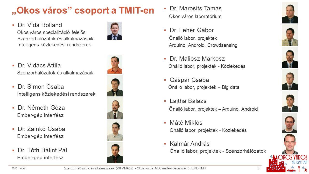 A félév felépítése ▪Előadások ▪a TAD szerint ▪2 vendégelőadás – Magyar Telekom és Ericsson ▪Gyakorlatok ▪2.