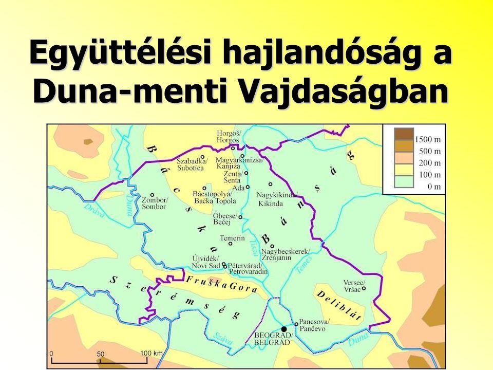 Együttélési hajlandóság a Duna-menti Vajdaságban
