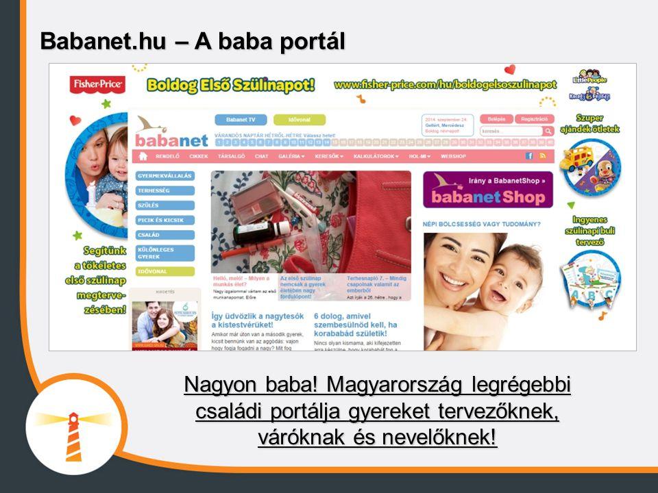 Babanet.hu – A baba portál Nagyon baba! Magyarország legrégebbi családi portálja gyereket tervezőknek, váróknak és nevelőknek!