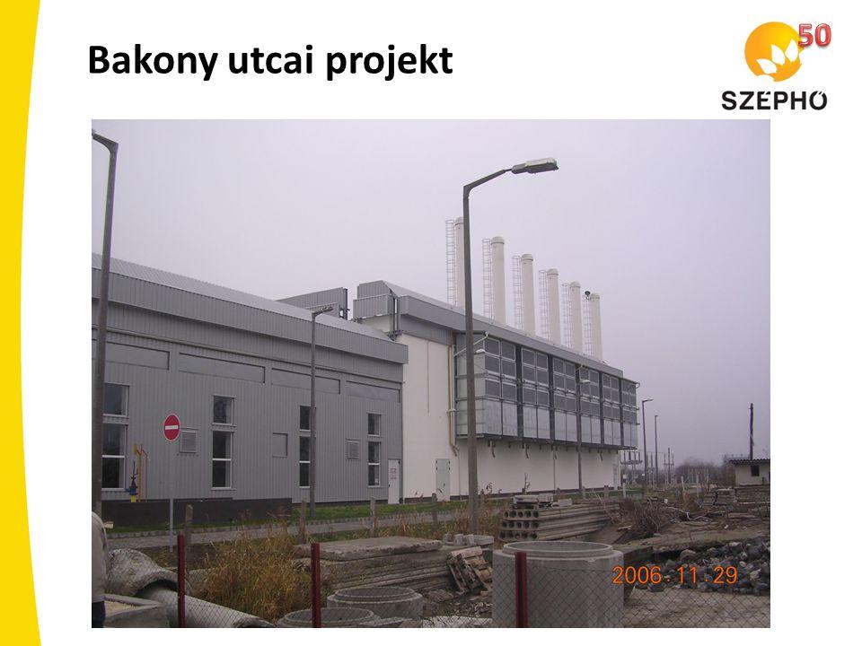 Bakony utcai projekt