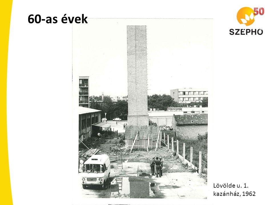 60-as évek Lövölde u. 1. kazánház, 1962