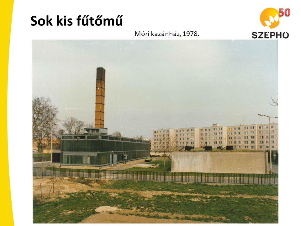 Sok kis fűtőmű Móri kazánház, 1978.