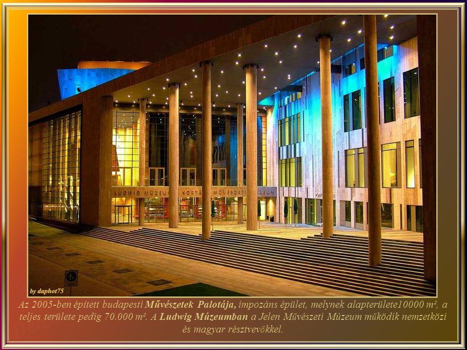 Az új Nemzeti Színház a Duna –parton 2002. március 15-én nyitotta meg kapuit.