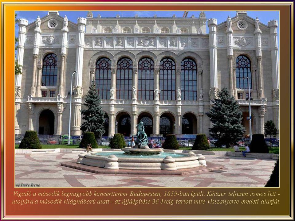 Az 2005-ben épített budapesti Művészetek Palotája, impozáns épület, melynek alapterülete10000 m², a teljes területe pedig 70.000 m². A Ludwig Múzeumba