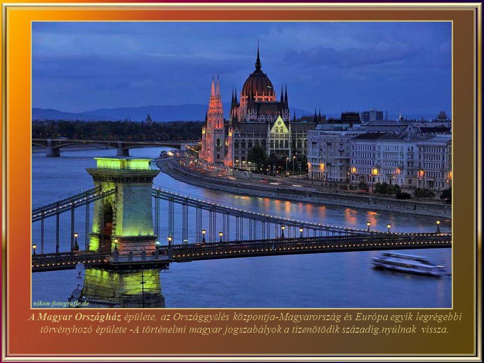 Az Országház a város egyik legfontosabb történelmi látványossága. Jelenleg ez a legnagyobb épület Magyarországon és a második legnagyobb Európában.