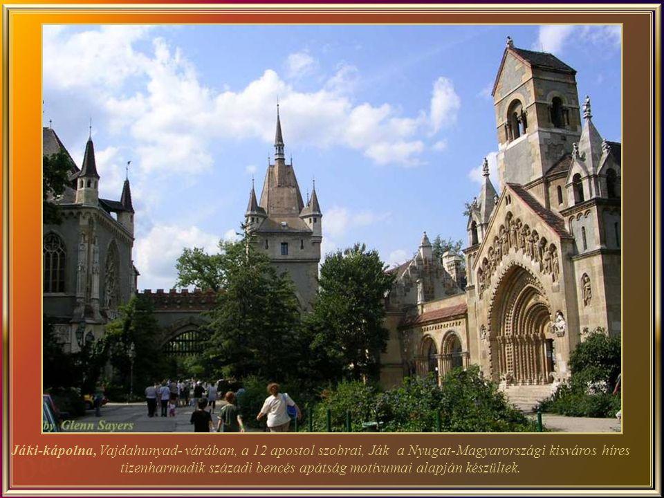 A Vajdahunyad -vára elképesztően csodálatos építmény, amely magában foglal több kreatív alkotást.