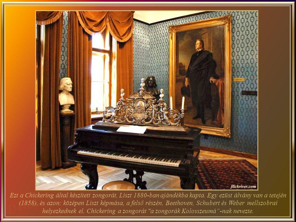 A Liszt Ferenc Zeneakadémia, a zene legfontosabb magyar iskolája és az egyik legrangosabb Közép- Európában. Az első emeleten, az 1907-ben épült Új Műv