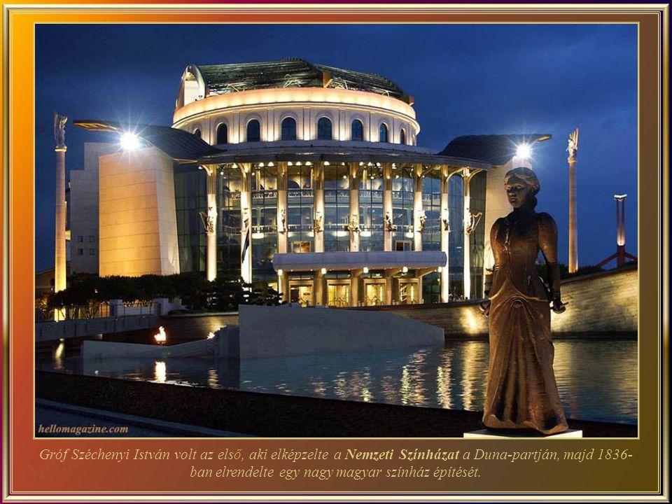 A Magyar Állami Operaház - az épület, egy neo-reneszánsz stílusú remekm ű, az egyik legnagyobb Európában, és akusztikalag is az egyik legjobb a világon.