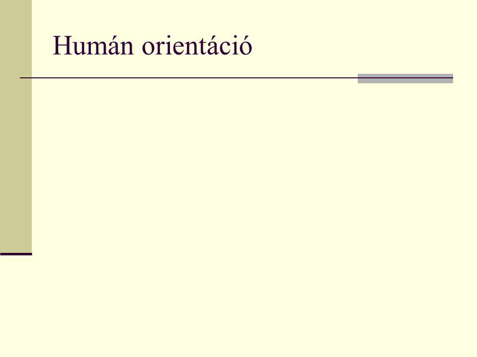 Humán orientáció