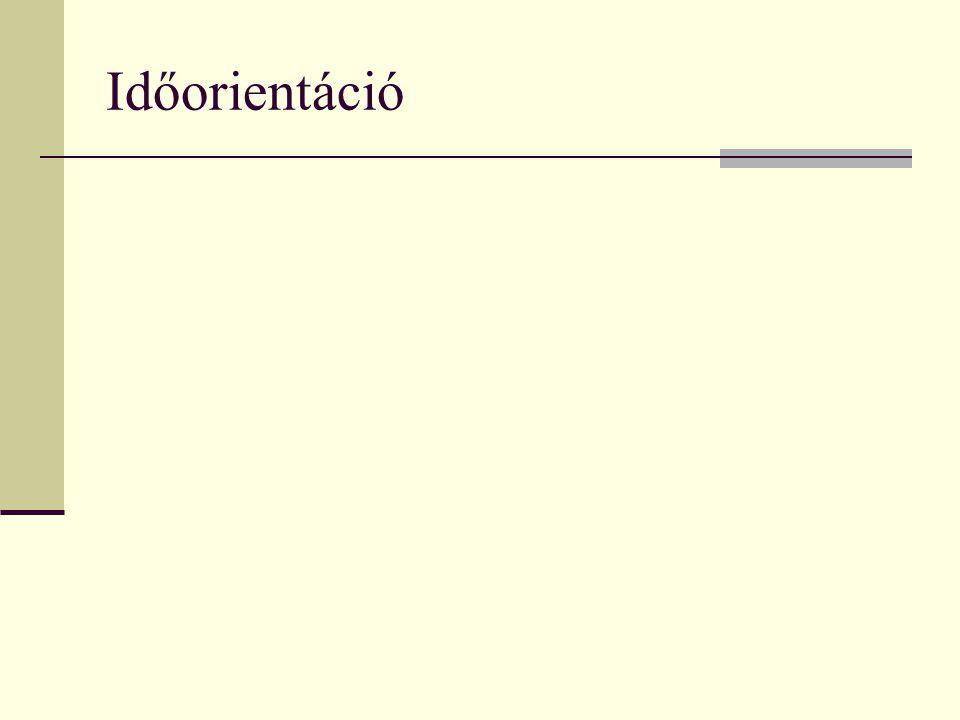 Időorientáció