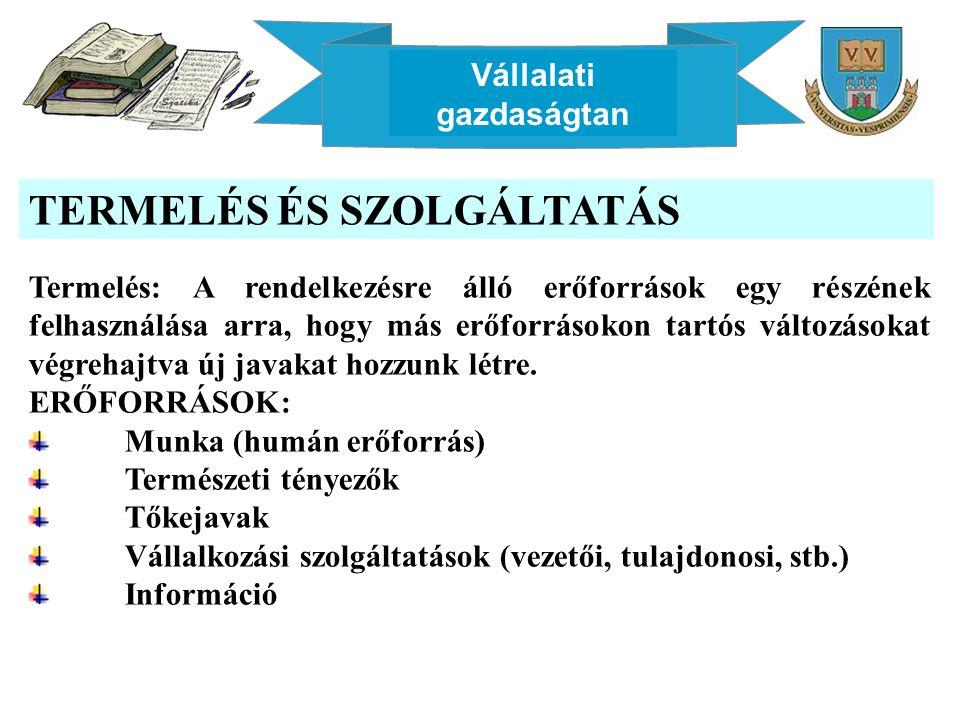 Vállalati gazdaságtan A LOGISZTIKAI RENDSZER Forrás: Chikán A.: Vállalatgazdaságtan, 2003, p.337.