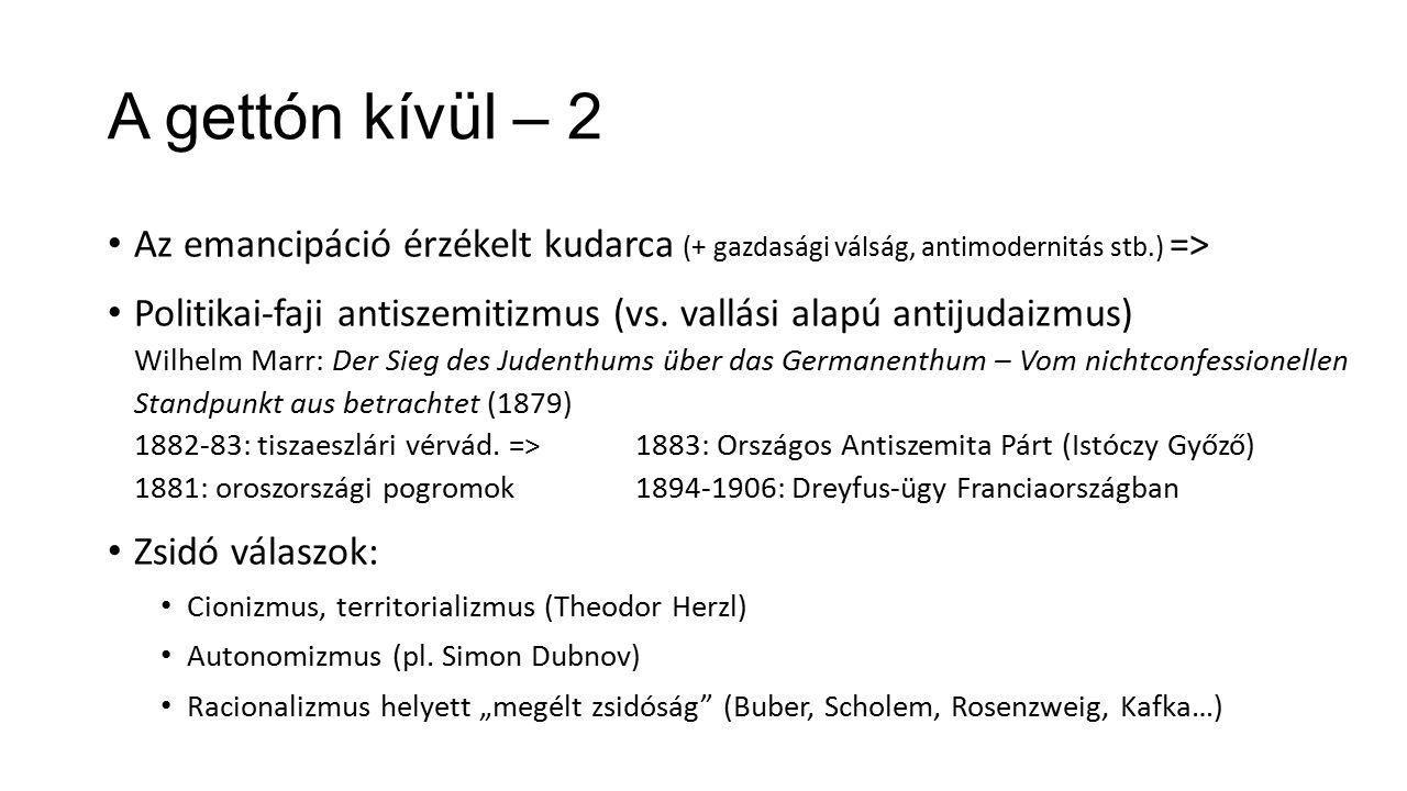 """Mára: az 1880-as évek Két dokumentum az 1880-as évekből, """"Kelet- Európából A Bilu kiáltványa (1882): Mendes-Flohr and Reinharz (eds.), The Jew in the Modern World: A Documentary History (Oxford University Press, 1995, 2nd ed.) [61.1.3.Men.1.] p."""