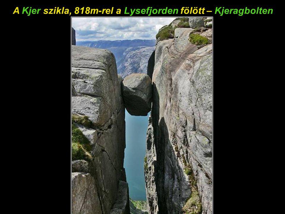 Egy látkép, amit feltétlenül meg kell nézni – Lysefjorden