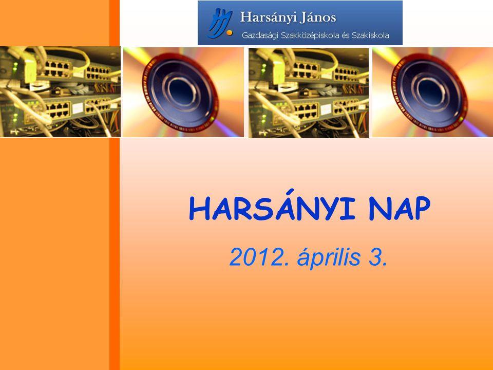HARSÁNYI NAP 2012. április 3.