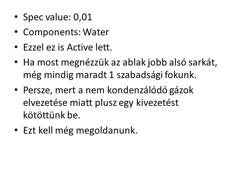 Spec value: 0,01 Components: Water Ezzel ez is Active lett.