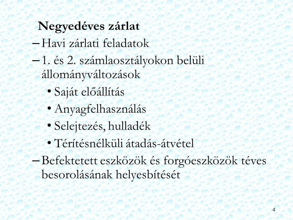 25 01.Közhatalmi eredményszemléletű bevételek 02.