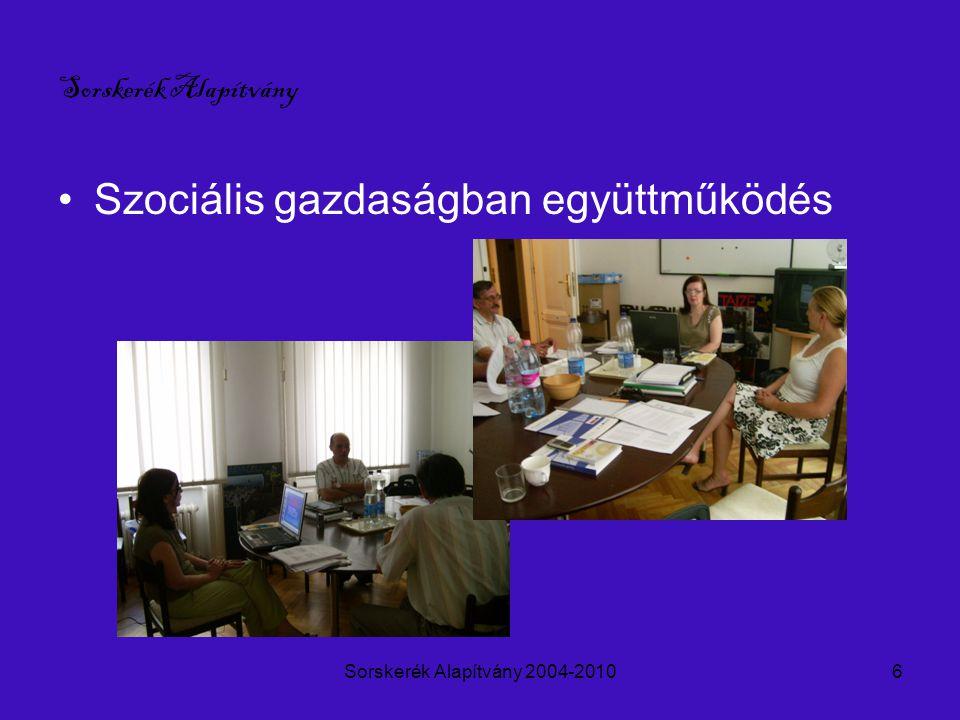 Sorskerék Alapítvány 2004-20107 Sorskerék Alapítvány - roma gyerekek tánctanítása, folklór támogatása