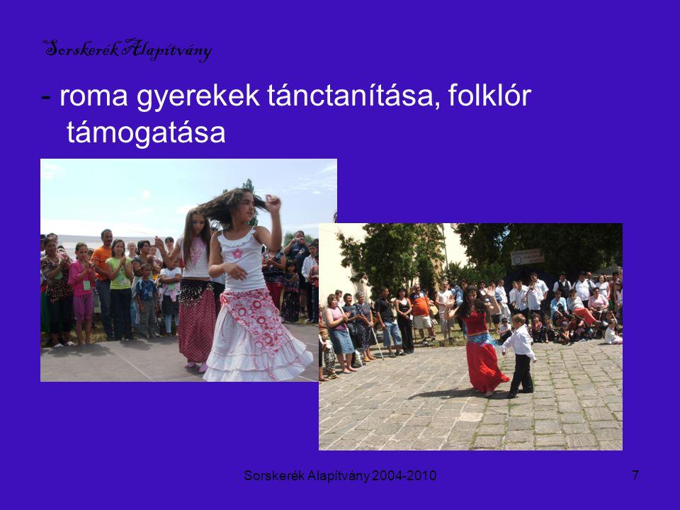 Sorskerék Alapítvány 2004-20108 Sorskerék Alapítvány - Dunakanyar-Ipolymente- Börzsöny- Turisztikai és Vendéglátó Hálózat