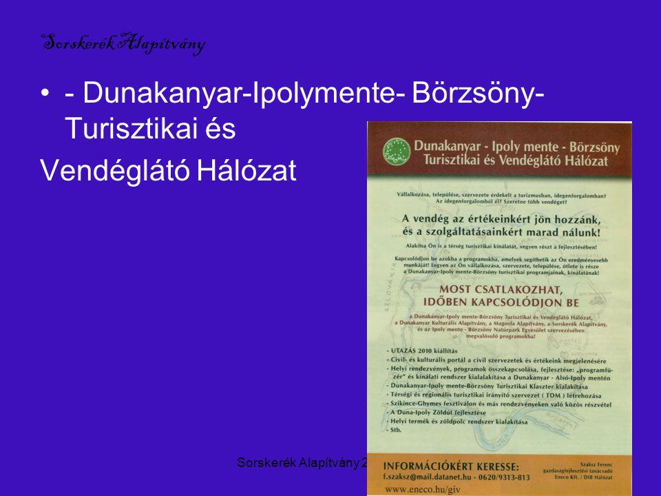 Sorskerék Alapítvány 2004-20109 D nap Vácon 2009.okt.10.