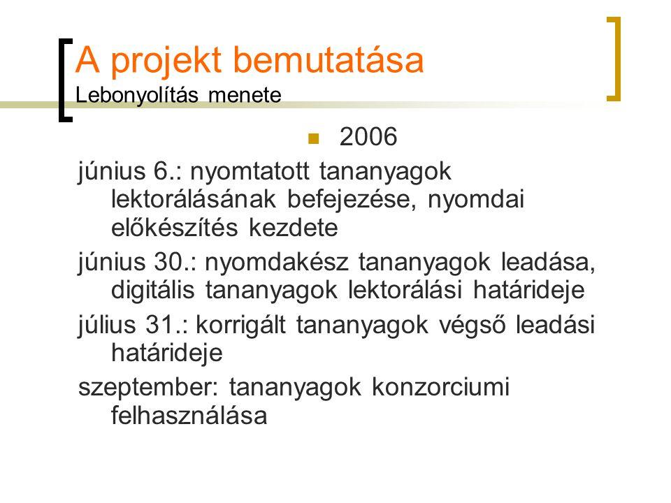 Költségvetés A projekt költségvetési rendszere ELTE költségvetése PTE költségvetése SZTE költségvetéseprojekt DE költségvetéseköltségvetése PPKE költségvetése