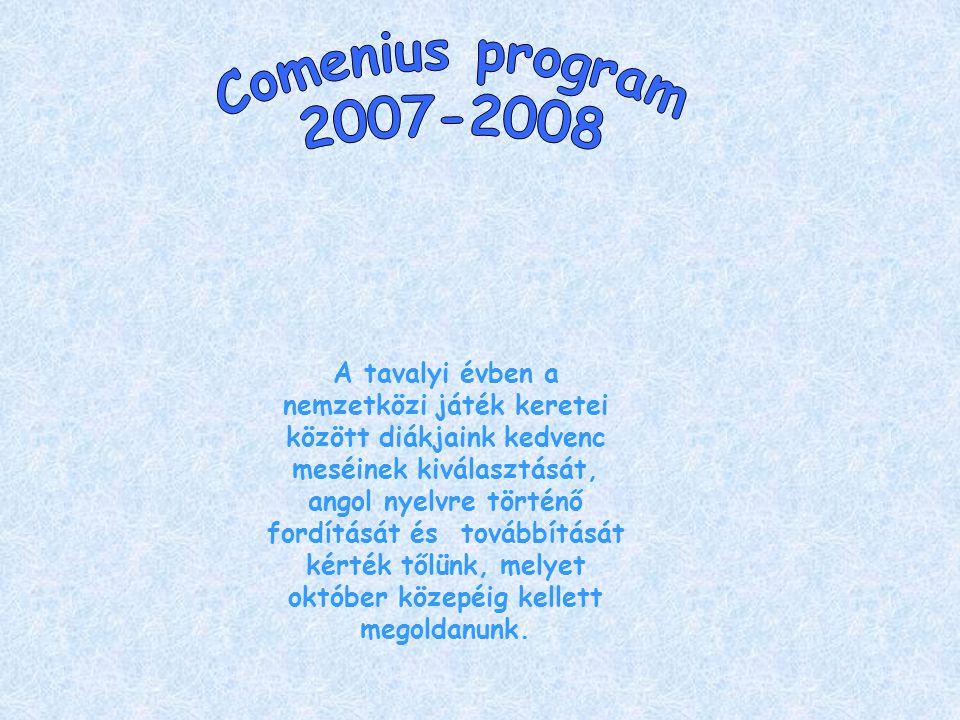 2007 májusában mindenkit arra buzdítottunk, hogy olvasson minél többet a nyáron, hogy szeptemberben leadhassa szavazatát kedvenc magyar meséjére.